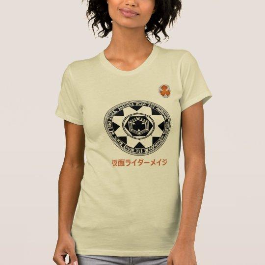 Camiseta Kamen Rider Mage 仮面ライダーメイジ