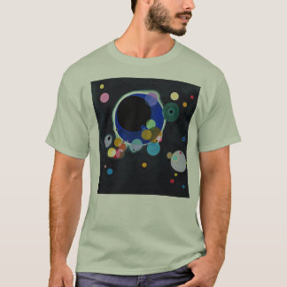 Camiseta Kandinskij - diversos círculos
