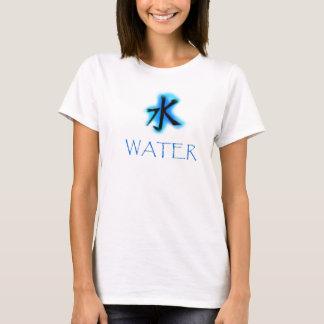 Camiseta Kanji da água