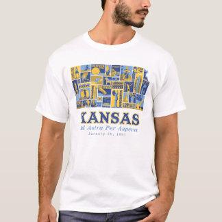 Camiseta Kansas - anúncio Astra por Aspera - t-shirt