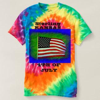 Camiseta Kansas esterlino 4o do LAÇO de julho MORREU