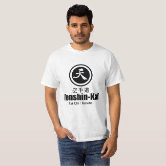Camiseta Karaté de Tenshin-Kai - t-shirt branco básico