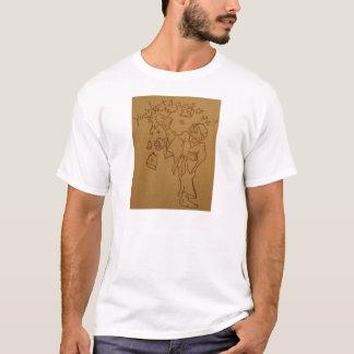Camiseta karaté do Pontapé-bumbum