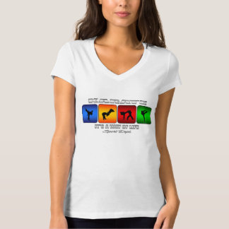 Camiseta Karaté legal é um modo de vida