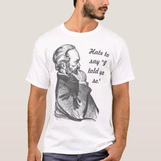 "Camiseta Karl Marx ""eu disse Ya assim."" T-shirt"