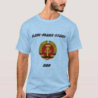 Camiseta Karl-Marx-Stadt, RDA, Chemnitz, Alemanha