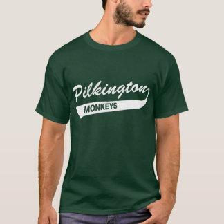 Camiseta Karl Pilkington Monkeys o t-shirt verde
