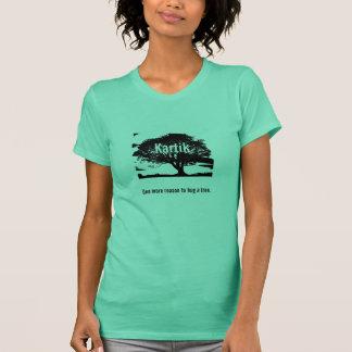 Camiseta Kartik: Uma mais razão abraçar uma árvore