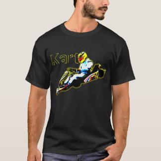 Camiseta Karting no amarelo