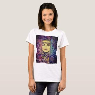Camiseta Katharine Hepburn - citações inspiradas do