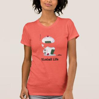 Camiseta Kawaii Riceball/Onigiri - Vida resistente