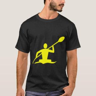Camiseta Kayaking - amarelo