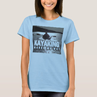 Camiseta Kayaking faz-me molhado