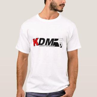 Camiseta KDM ouvem-se & a obscuridade do forte de Seoul