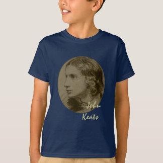 Camiseta Keats, poeta romântico