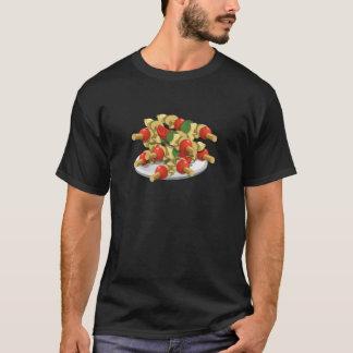 Camiseta Kebabs super do vegetariano da comida do pulso