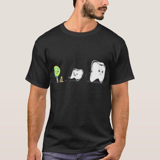 Camiseta Keep away from cavities