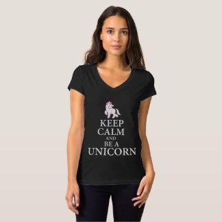 Camiseta Keep calm a unicorn