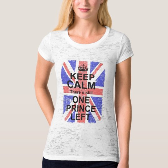 Camiseta Keep Calm Princess T-Shirt