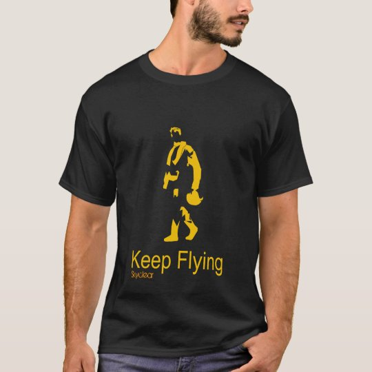 Camiseta Keep Flying