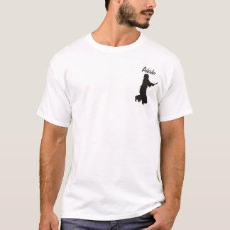 Camiseta _kendo_fighter_3_silhouette, Aikido