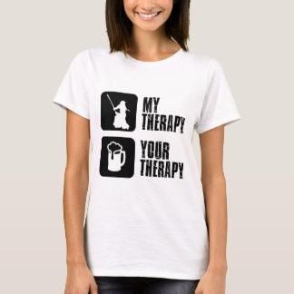 Camiseta kendo minha terapia