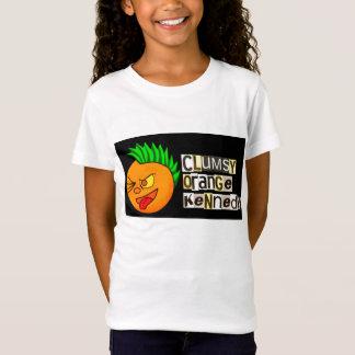 Camiseta Kennedy alaranjado desajeitado