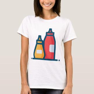 Camiseta Ketchup e mostarda