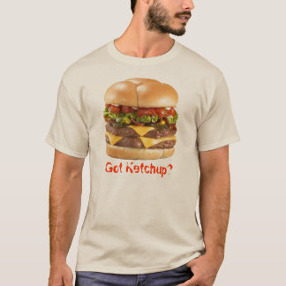 Camiseta Ketchup obtida?
