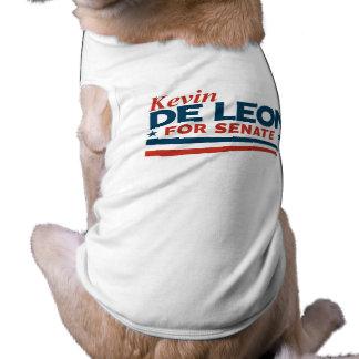 Camiseta Kevin de Leon para o Senado