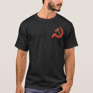 Camiseta KGB que compete o t-shirt