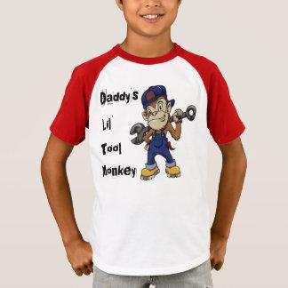 Camiseta Kian é macaco da ferramenta do Lil do pai