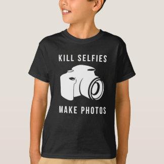 Camiseta Kill selfies
