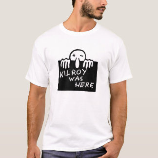Camiseta Kilroy estava aqui