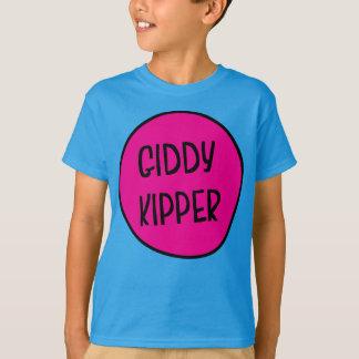 Camiseta Kipper vertiginoso, o T das crianças britânicas