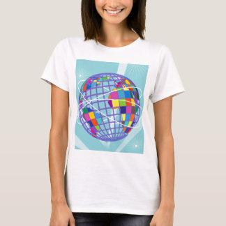 Camiseta Kitsch retro Trave intercontinental global do