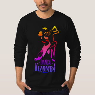 Camiseta kizomba do danca multicolorido