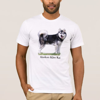 Camiseta Klee do Alasca preto & branco Kai