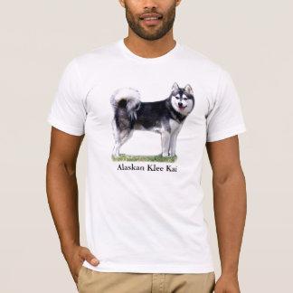 Camiseta Klee do Alasca preto & branco Kai