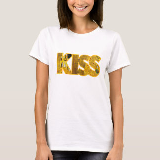 Camiseta Klimt inspirou t-shirt do beijo