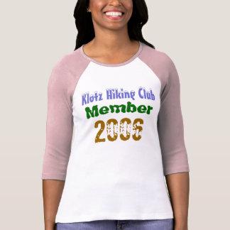 Camiseta Klotz que caminha o clube, 2006