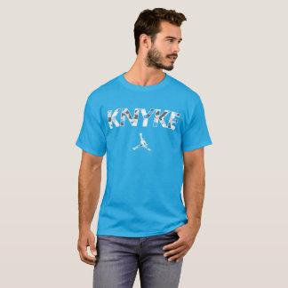 Camiseta Knyke azul Camo