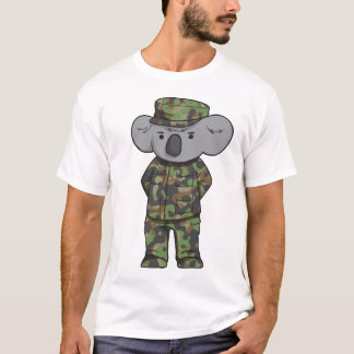 Camiseta Koala do exército