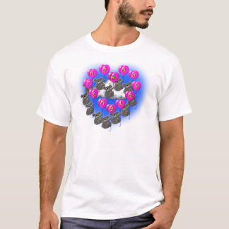 Camiseta koalas dos namorados do vôo
