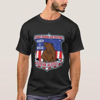 Camiseta Kodiak da estação aérea da guarda costeira