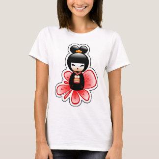Camiseta kokeshi-mickey-sfondo-t