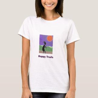 Camiseta Kokopelli, fugas felizes