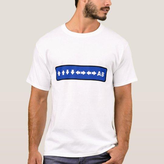 Camiseta Konami Code (Blue)