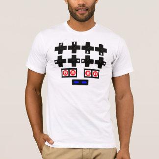Camiseta Konami contra o código