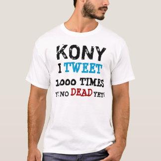 Camiseta Kony 2012 - y u nenhum morto